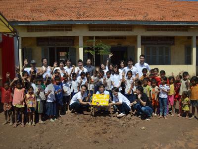 社員が中心となって行っているカンボジアプロジェクト