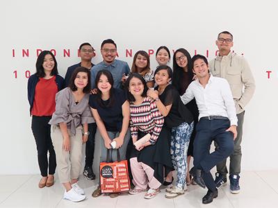 インドネシアで活躍するメンバーたち
