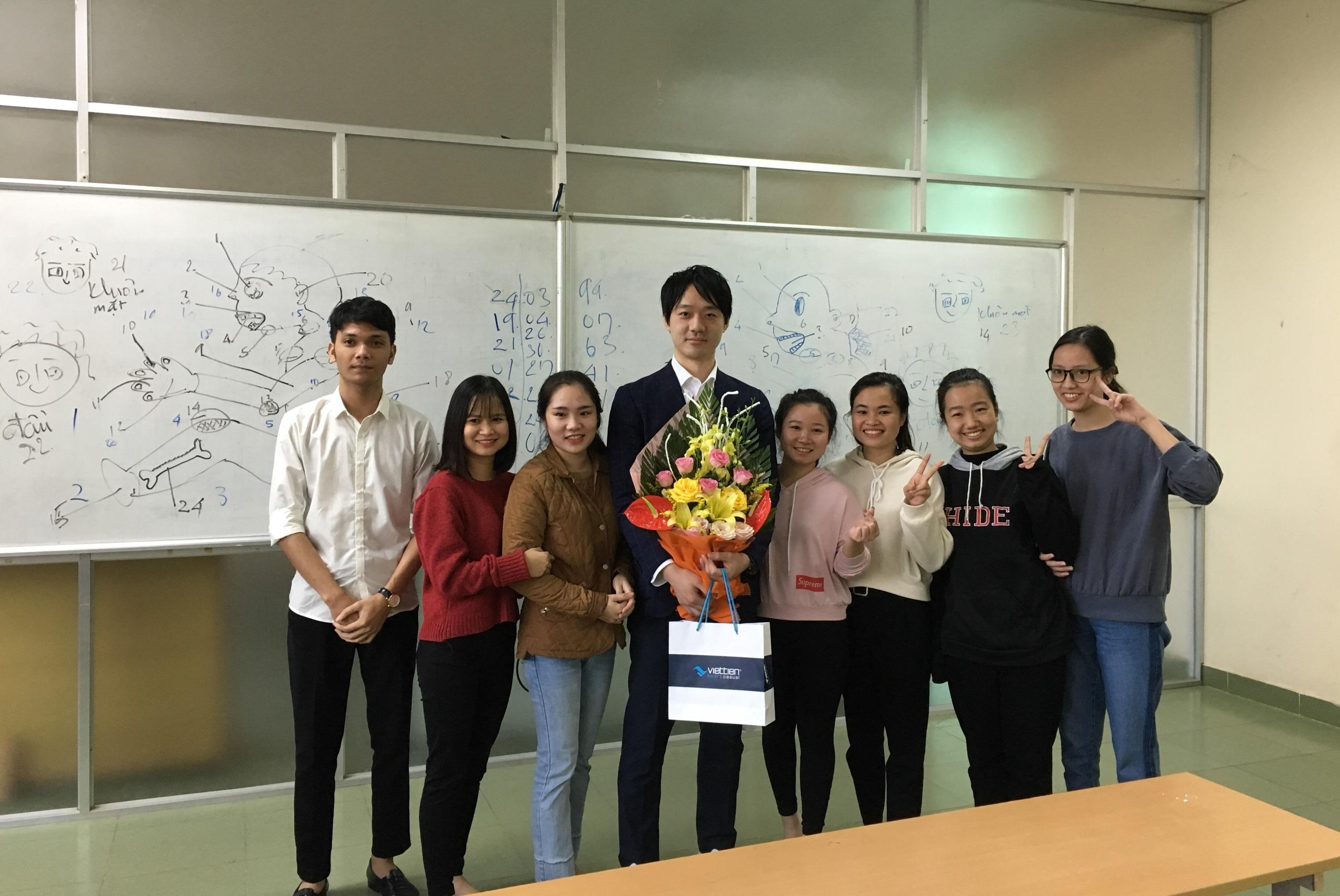 ベトナムのヴィン工業大学での日本語教育